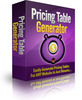 Pricing Table Generator Software with MRR