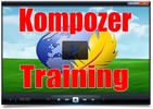 Thumbnail The Kompozer Training video tutorials - PLR