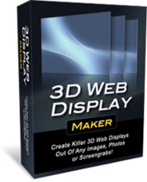 Product picture 3D Web Display Maker