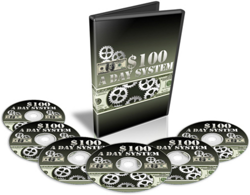Product picture $100 A Day System Video Course With MRR
