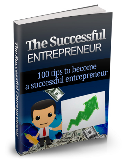 Product picture The Successful Entrepreneur Ebook Package With MRR