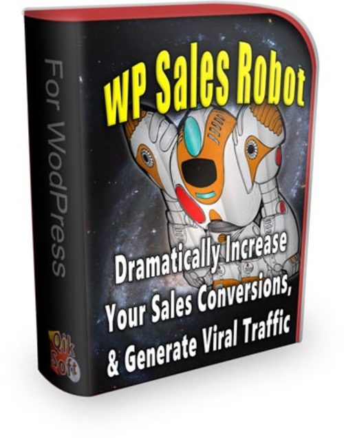 Product picture  WP Sales Robot with PLR