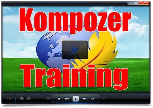 Product picture The Kompozer Training video tutorials - PLR