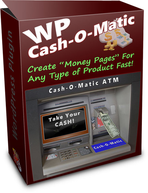 Product picture WP Cash O Matic - PLR