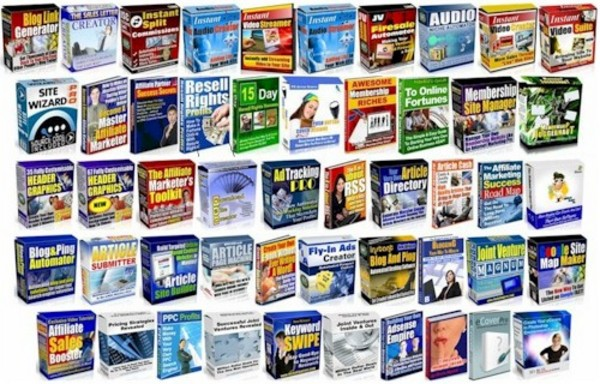 Product picture Bundle 50 Resale Rights Products