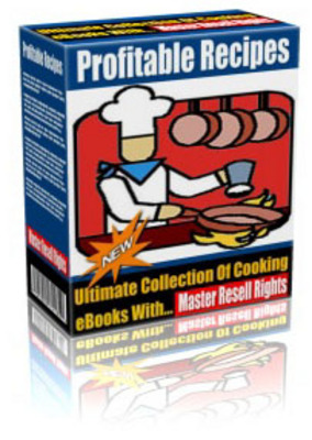 Product picture Profitable Recipes e-Book Package