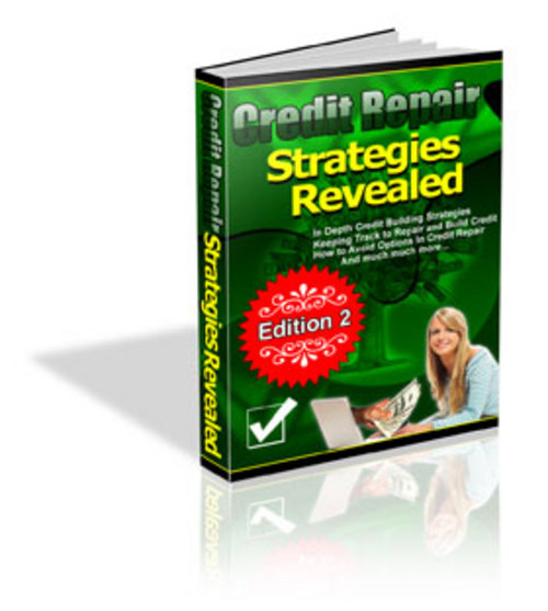 Product picture Credit Repair Strategies Revealed Ebook w/MRR